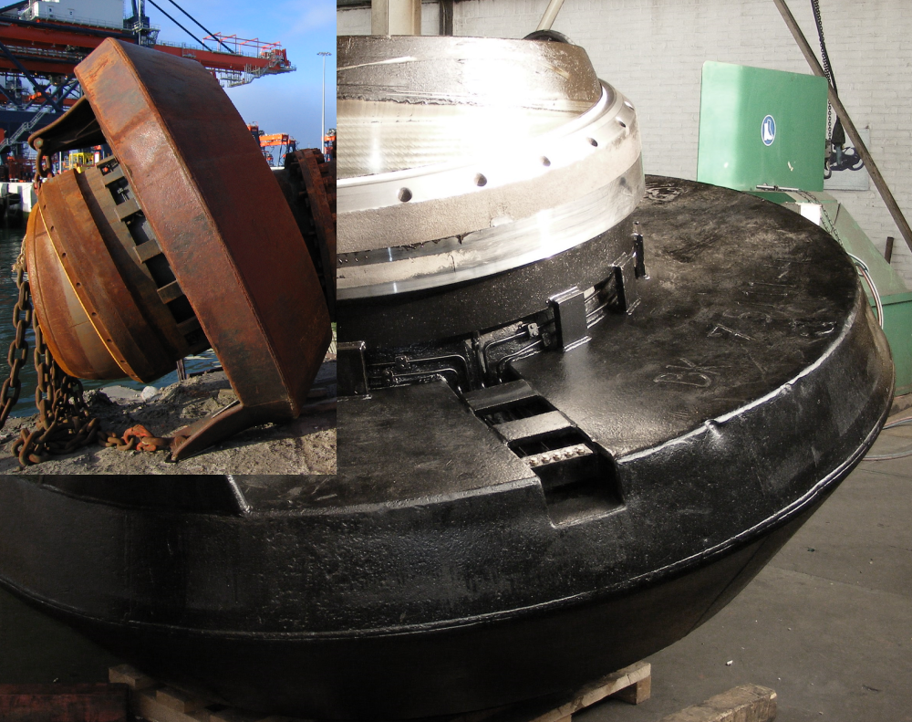 Servicing a bow coupling